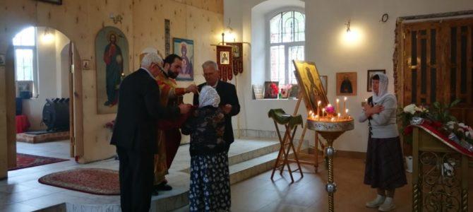 В Храме Воскресения Христова д. Бурцево прошел Престольный праздник